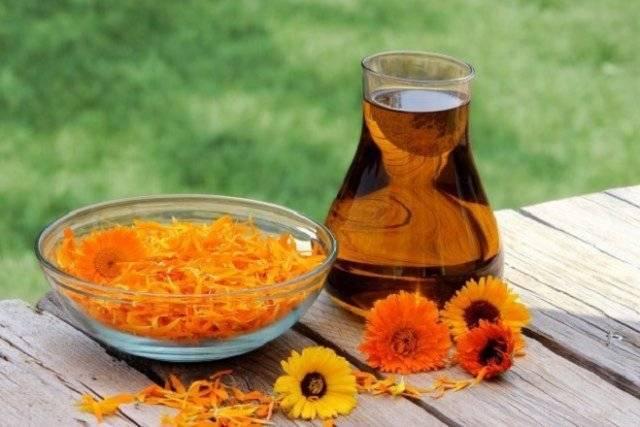 Полезные свойства масла календулы, способы ирецепты применения
