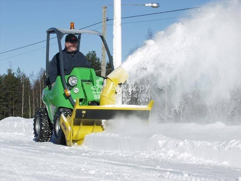 Снегоуборочная техника для дачи, правила выбора, видео