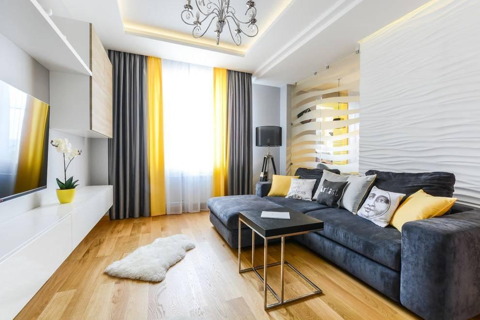 Дизайн штор в гостиную - инструкции по выбору, дельные советы дизайнеров