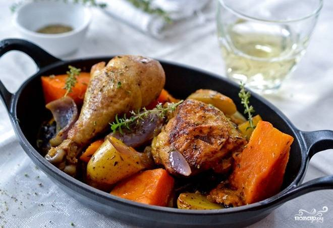 Тыква с мясом - 66 домашних вкусных рецептов приготовления