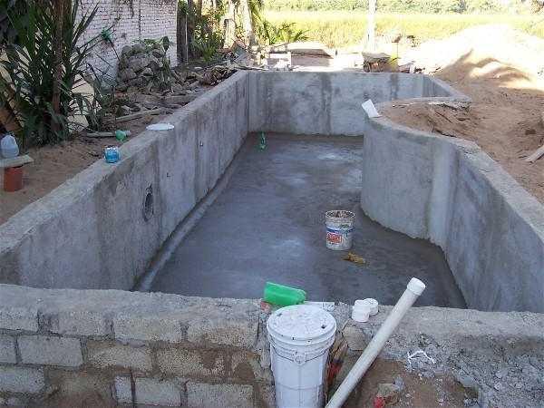 Строительство каркасного бассейна своими руками