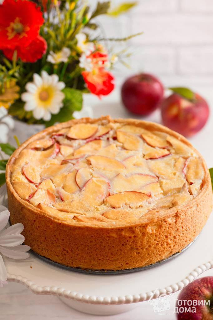 Цветаевский яблочный пирог: пошаговый рецепт с фото