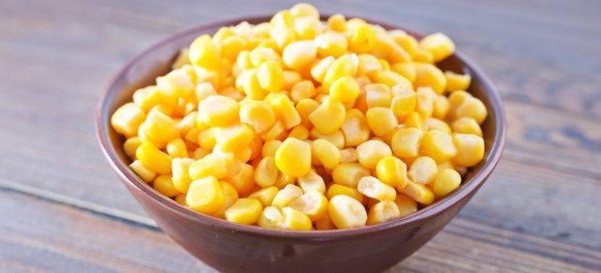 Заготовки из кукурузы на зиму, рецепты
