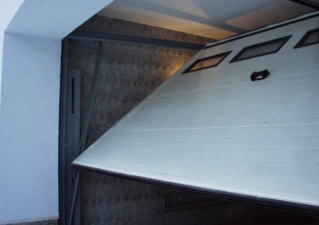 Подъемно-поворотные ворота: создаем защиту для дома своими руками