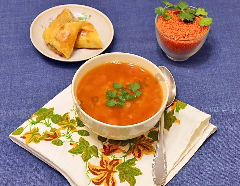 Суп чечевичный по-турецки