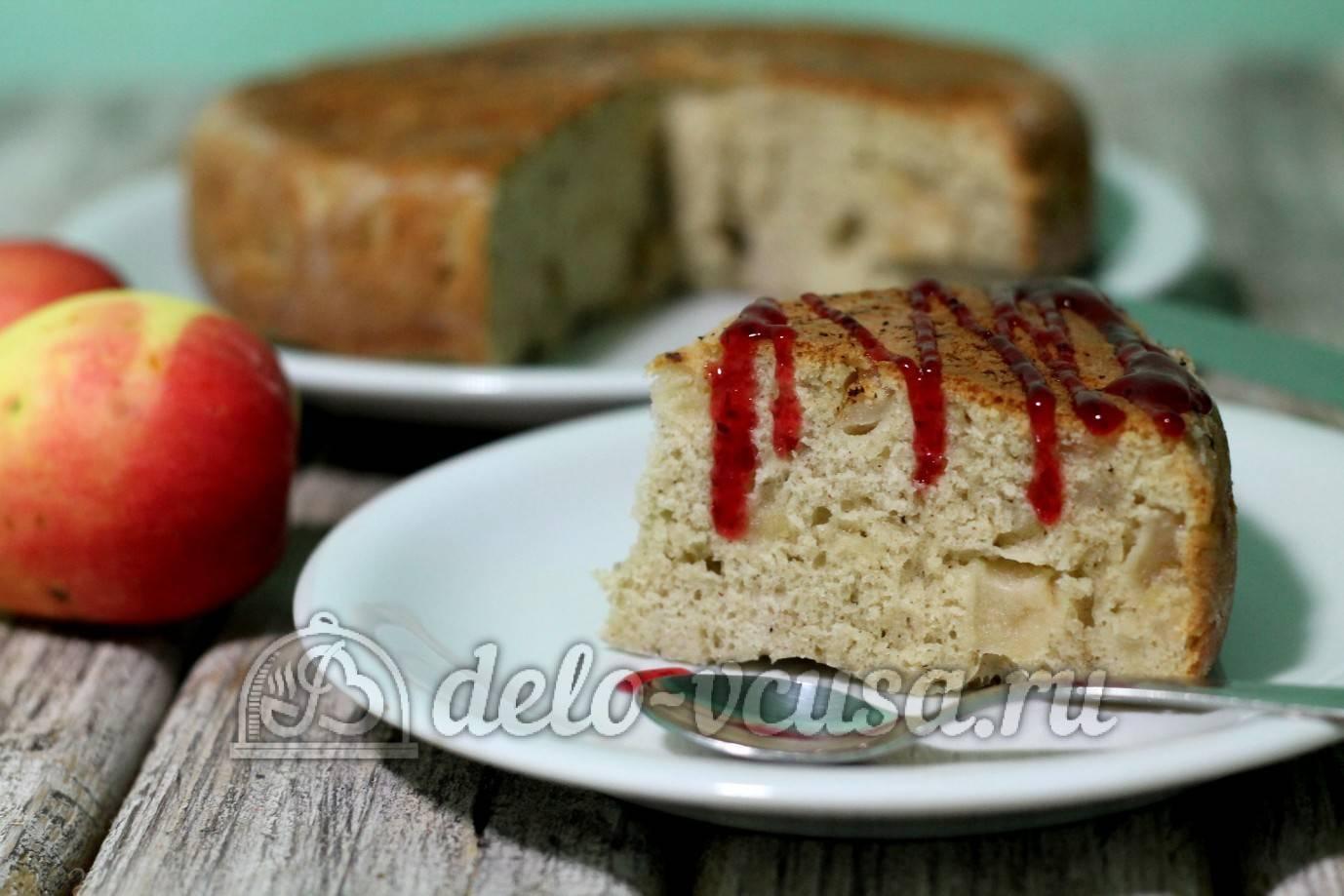 Рецепт шарлотки в мультиварке с яблоками – готовим любимый десерт