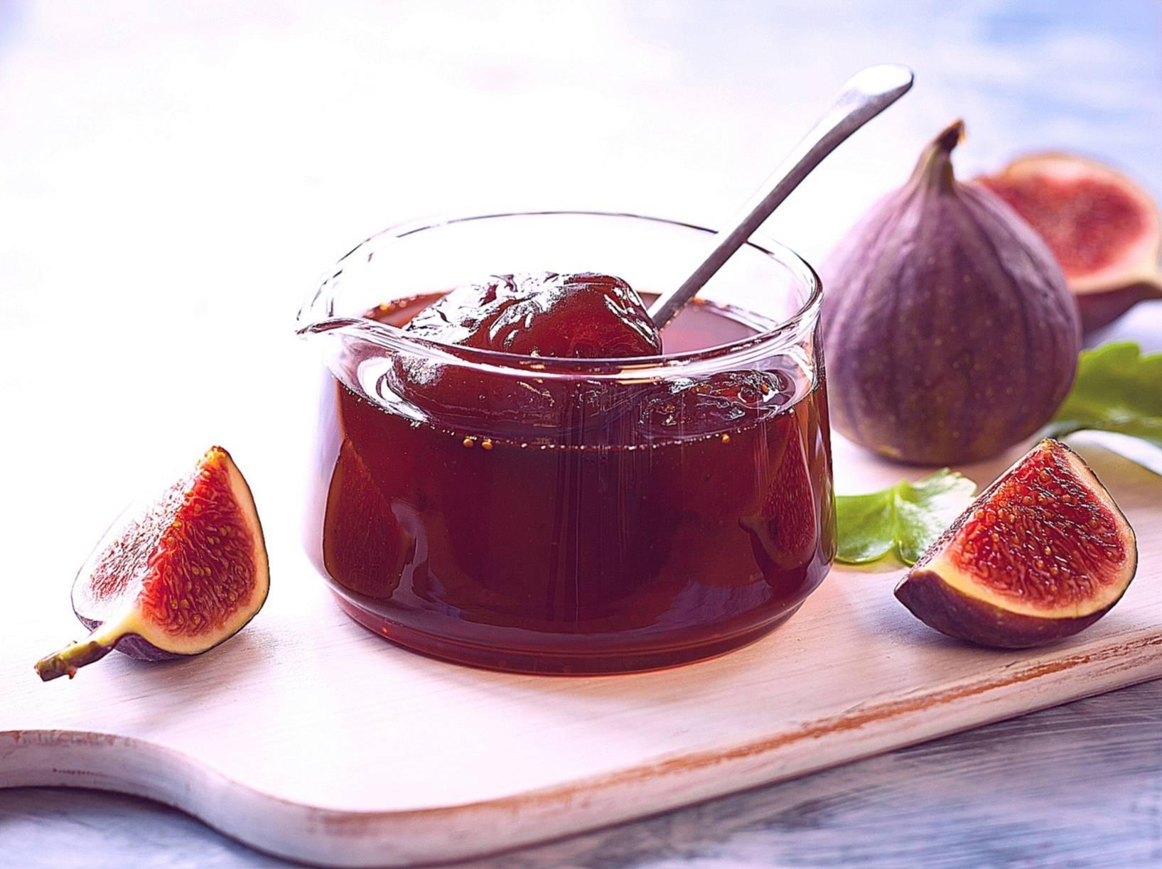 Варенье изинжира— польза ивред, рецепты, вкус иаромат