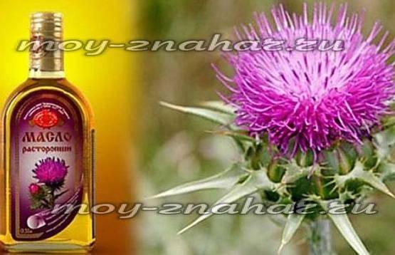 Правильное применение масла расторопши для лечения печени