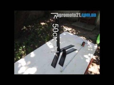 Ручной культиватор торнадо — очистит огород и разгрузит спину