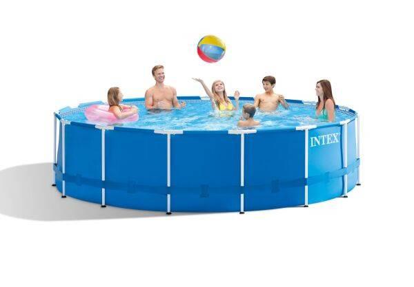 Насколько хорош бассейн для дачи каркасный? преимущества и недостатки, сложность установки