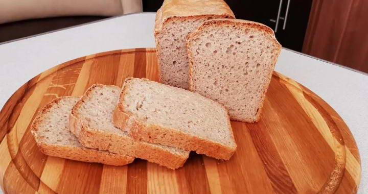 Белый хлеб в мультиварке и духовке