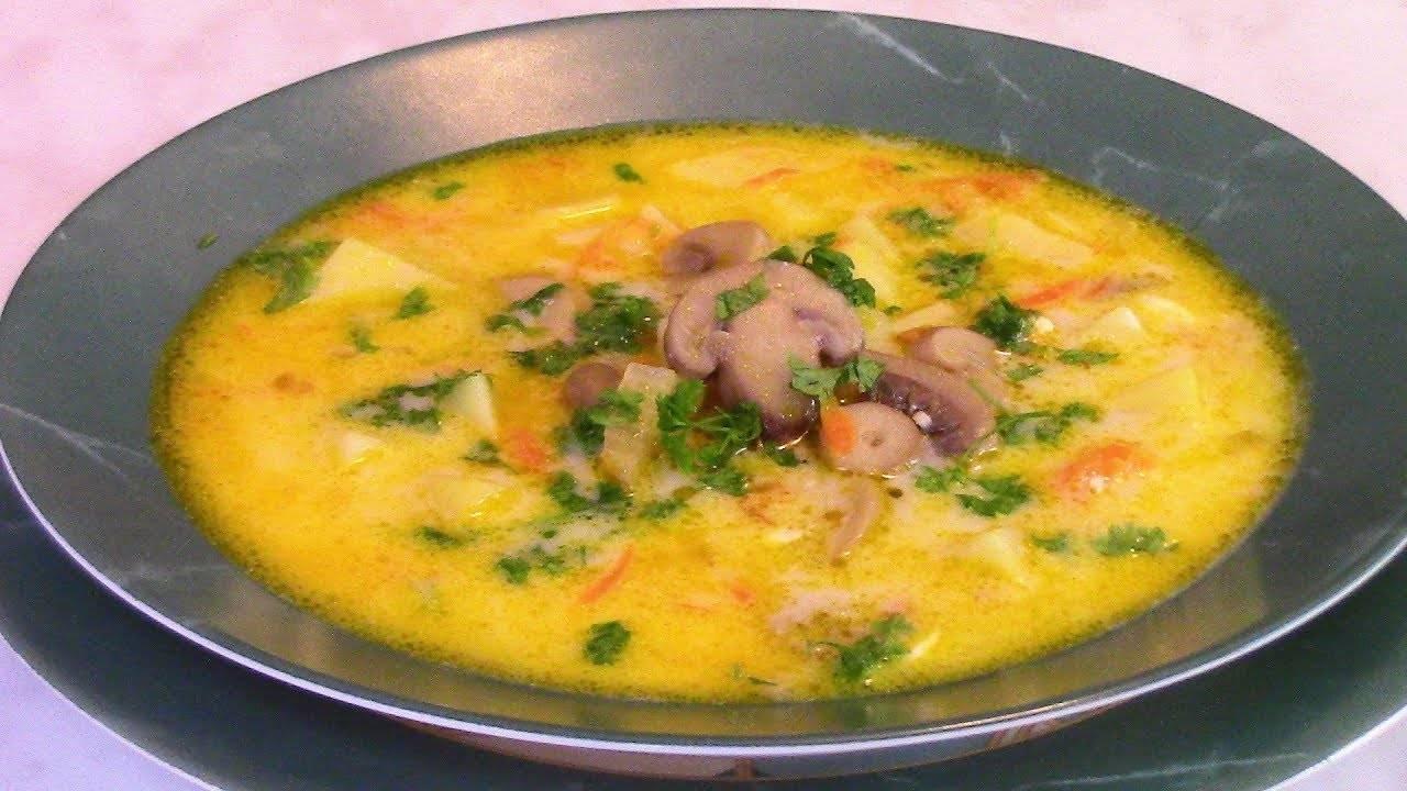 Сырный суп с плавленым сыром — 10 пошаговых рецептов