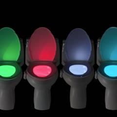 Подсветка для унитаза: как это работает?