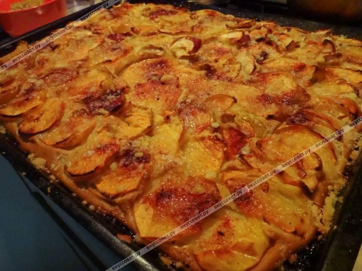 Пышная шарлотка с яблоками в духовке — 10 самых вкусных и простых рецептов