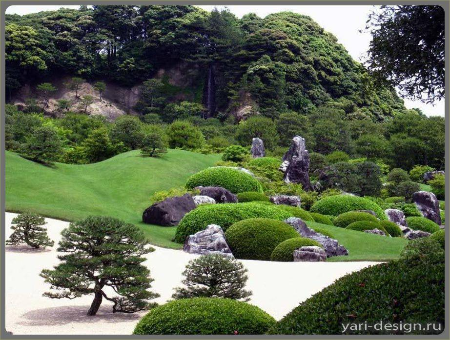 Японский стиль в ландшафтном дизайне - забор, клумбы, дорожки