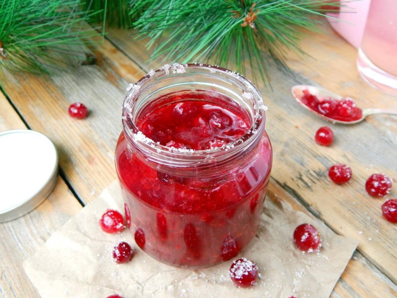 Варенье из клюквы на зиму – вкусно и еще очень полезно