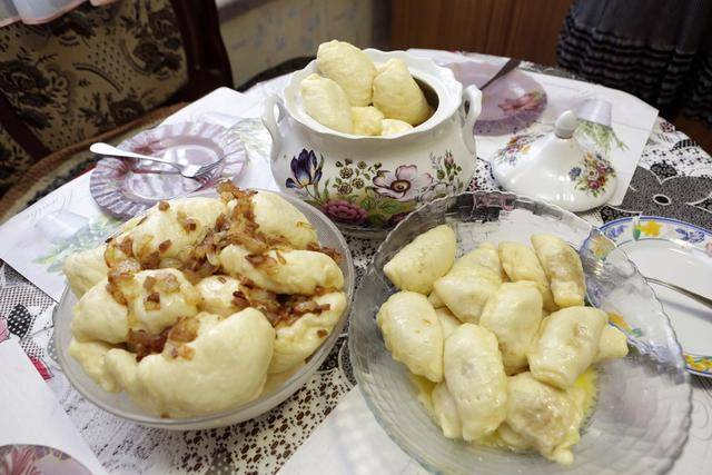 Вареники с картошкой, луком, салом — пошаговые рецепты с фото, видео