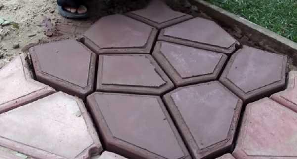 Как изготовить формы для тротуарной плитки своими руками — пошаговая инструкция