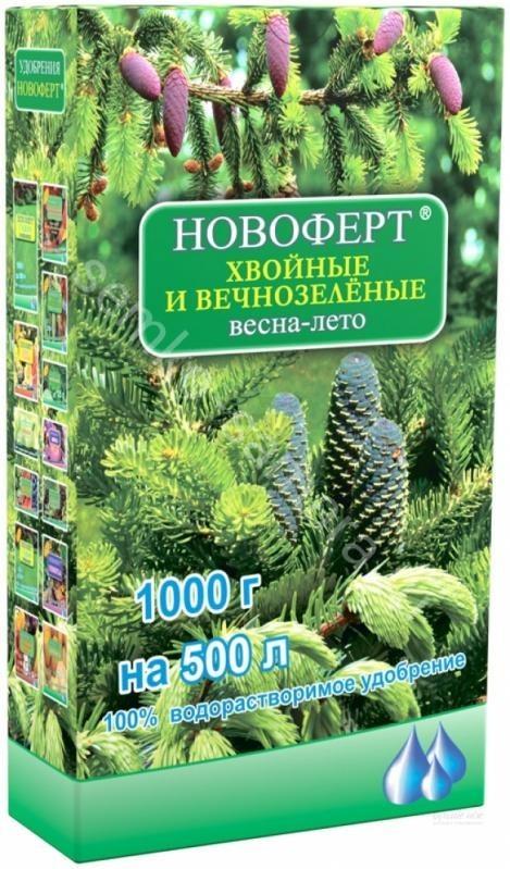 Виды удобрений для хвойных растений и их применение