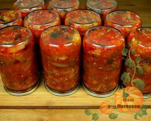 Вкусное соте из баклажанов на зиму рецепт. соте из баклажанов на зиму — пошаговые рецепты с фото. как приготовить салат из баклажанов и кабачков в домашних условиях на сковороде