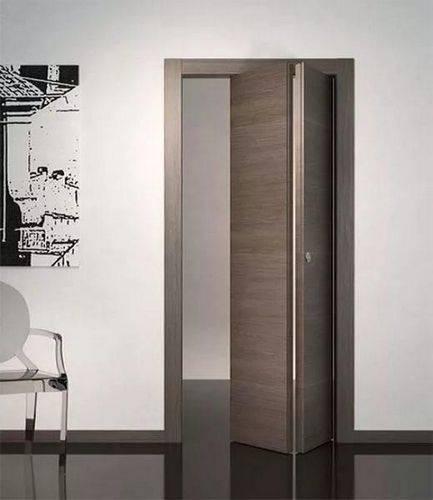 Что представляет собой межкомнатная складная дверь «книжка»