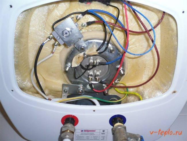 Ремонт накопительных водонагревателей аристон