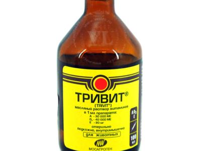 Тетравит — наставления (инструкции) на сайте vetlek