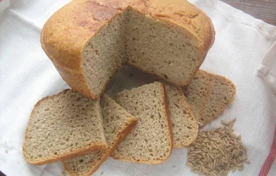 Хлеб из ржаной муки в мультиварке