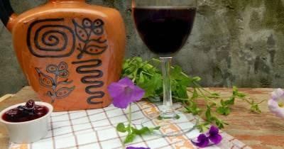 Простой рецепт вина из варенья в домашних условиях
