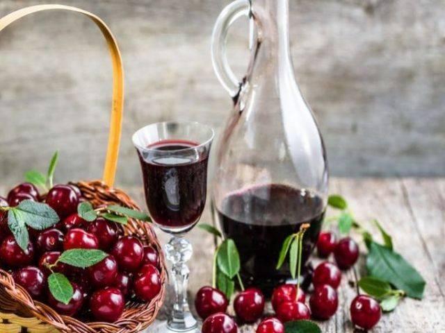 Настойка из черешни – 6 простых и замечательных рецептов в домашних условиях