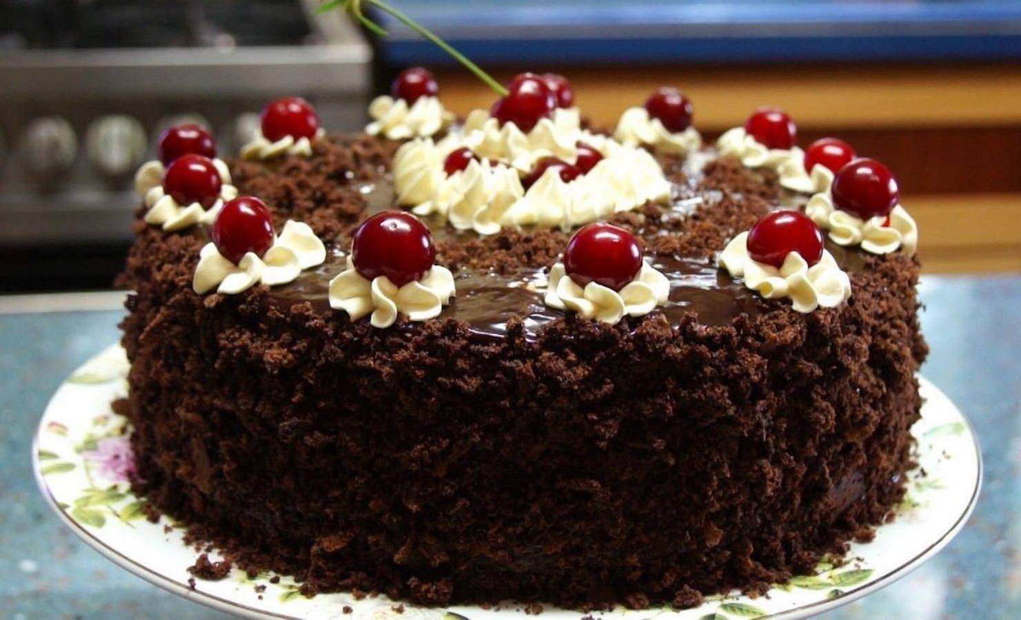 Вкусный торт «пьяная вишня»: классический рецепт для праздничного стола