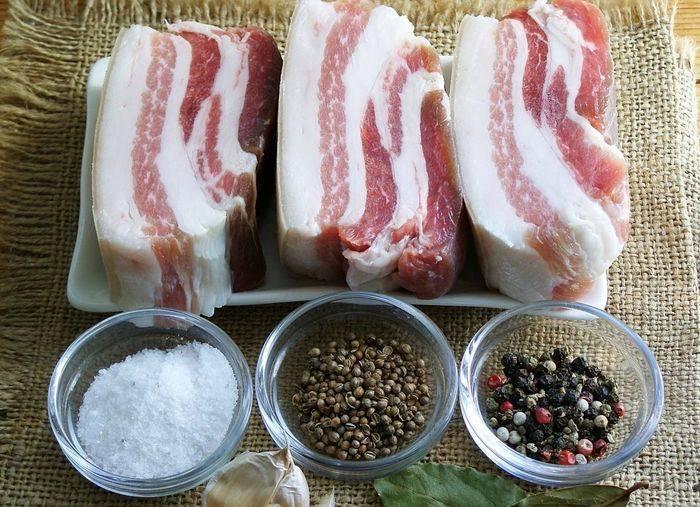 Лучшие рецепты засолки сала в рассоле в домашних условиях