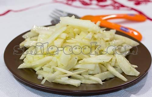 Рецепт: салаты из топинамбура