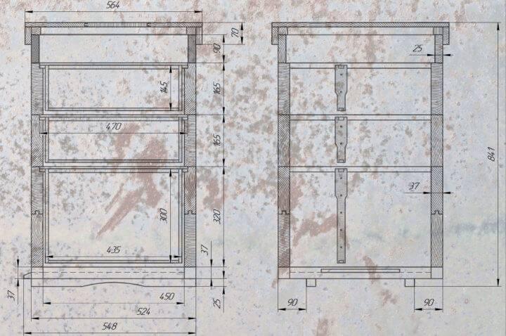 Рамки для ульев: виды, размеры и чертежи