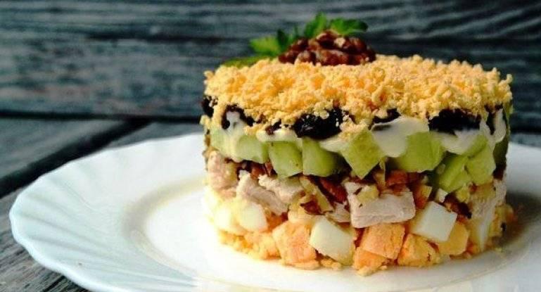 Салат с грецкими орехами — 10 рецептов очень вкусных салатов