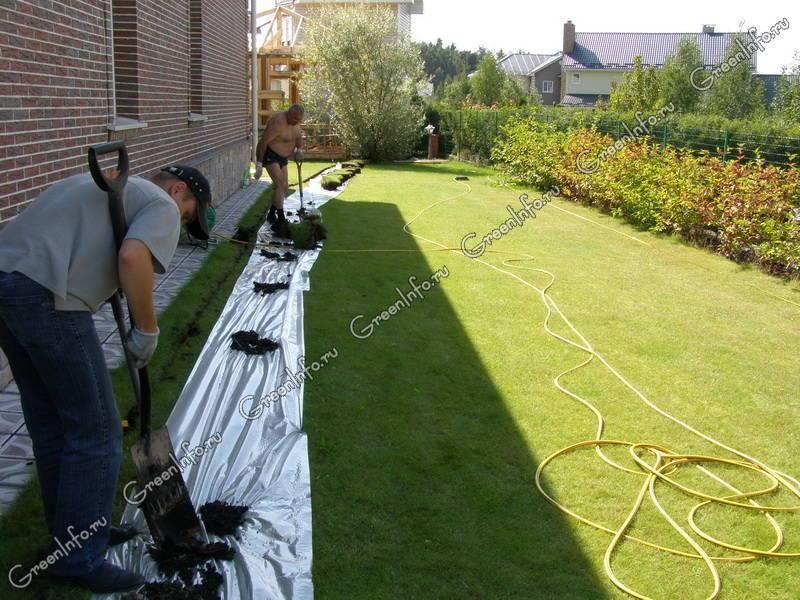 Создаем систему автоматического полива газона своими руками