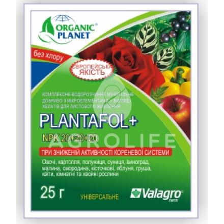 Комплексное удобрение «плантафол»