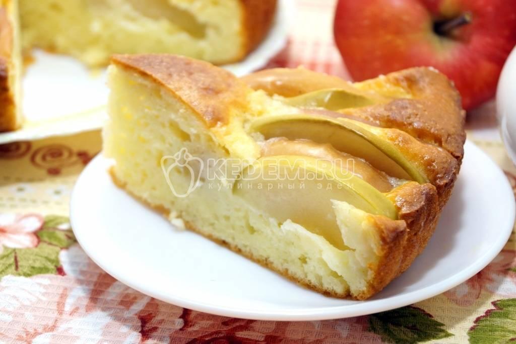 Пышная шарлотка с яблоками в духовке — 16 классических рецептов
