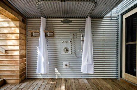 Дачный душ своими руками