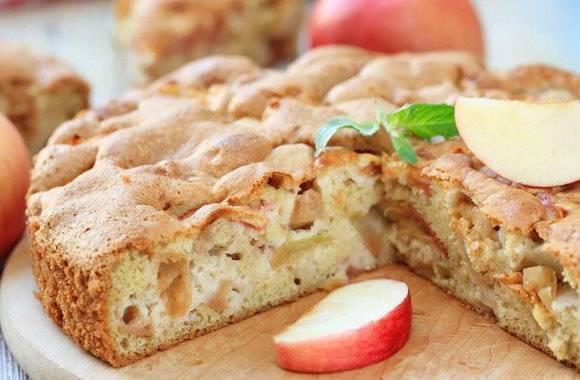 Шарлотка с яблоками рецепт  как приготовить вкусный яблочный пирог