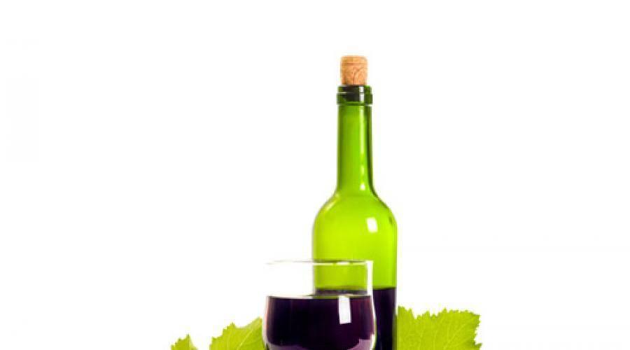 Виноградное вино от а до я
