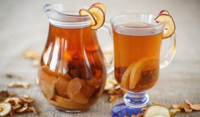 Компот из яблок рецепт приготовления