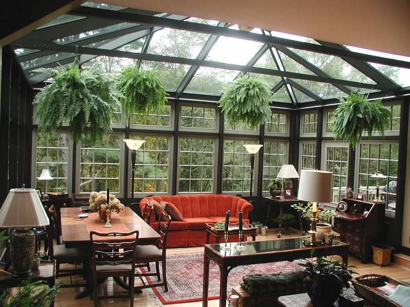 Зимний сад в доме: интересно, красиво, оригинально