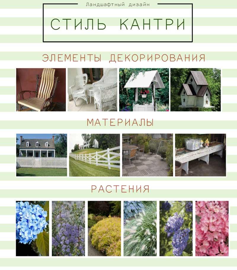Все стили ландшафтного дизайна, список с фото