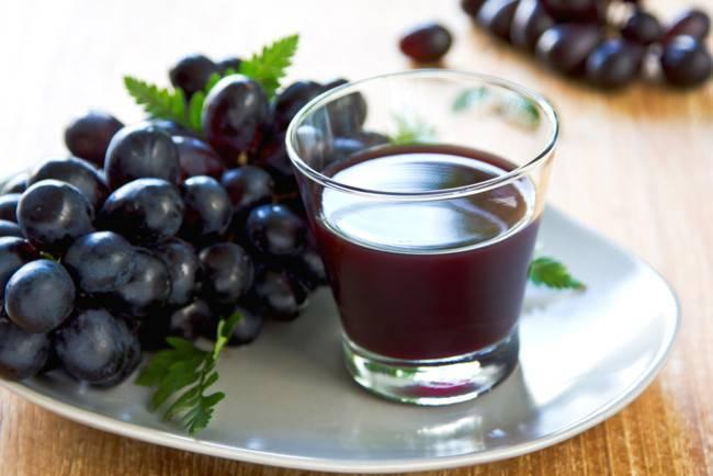 Сок виноградный с мякотью. виноградный сок на зиму в домашних условиях «трехдневный». рецепты приготовления сока на зиму