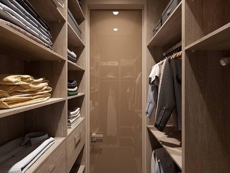Вентиляция в гардеробной комнате (для одежды)