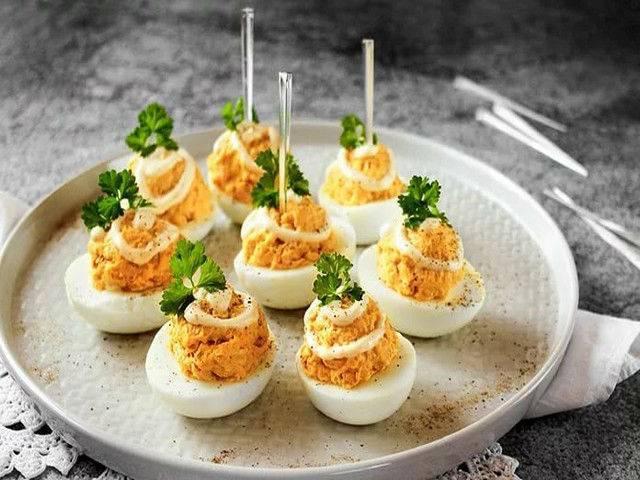 Фаршированные яйца рецепты приготовления