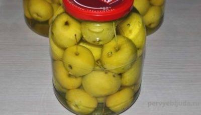 Яблоки в собственном соку на зиму — рецепты без сахара, без стерилизации, фото, видео