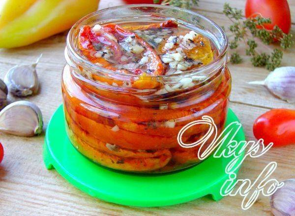 Вяленые томаты проще не бывает в духовке на зиму