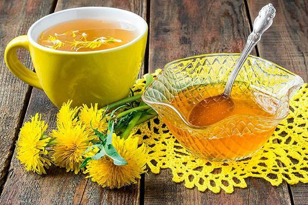 Какая польза от употребления чая из одуванчиков?